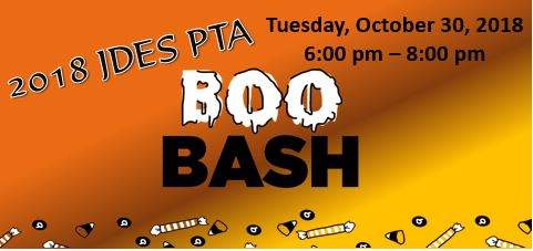 PTA Boo Bash Oct 30 6 to 8