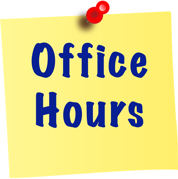 JDES Office Hours - Monday - Friday 8:00 - 4:00 - by appointment only