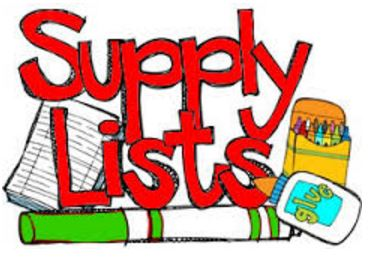 2017-18 Supply lists/ Lista de Útiles 2017-2018