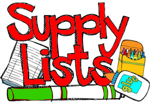 2019-20  5TH & 6TH Grade School Supply List