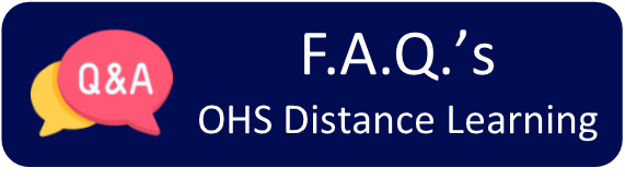 F.A.Q.'s for OHS Distance Learning