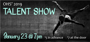 Talent Show January 23rd @ 7pm