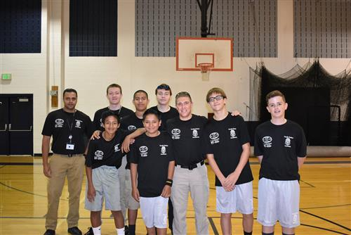 OHS Students Participate in Public Safety Camps
