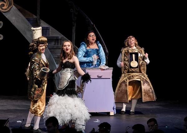 Osbourn High School Theater Beauty and the Beast costumes
