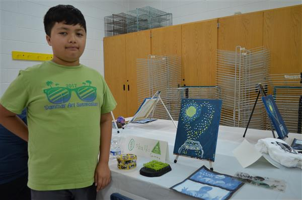 Summer Art Symposium Sparks Interest Among Students, Parents