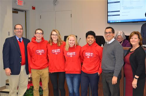 OHS Students Participate in Nat'l 'Youth Salute' Leadership Program