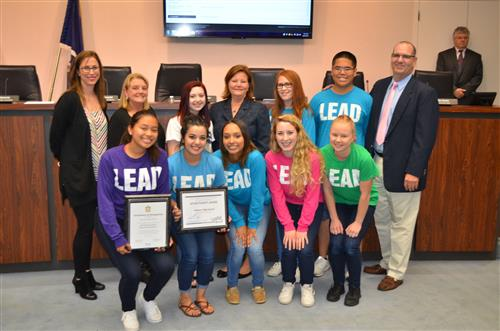 OHS Student Council Receives State Achievement Award; Nat'l Recognition