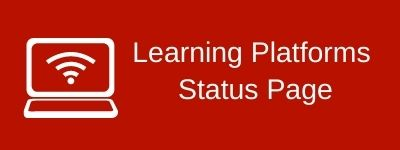 Learning Platforms Status Page