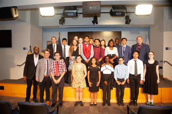 Metz Students Attend Jazz Event at Department of Education