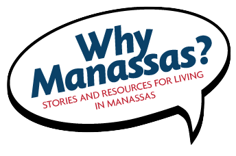 Why Manassas Logo