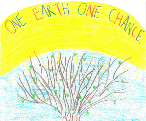 Video: Round Elementary Students Create Earth Day PSA