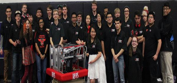 OHS Scores Engineering Award at FIRST Robotics Competition