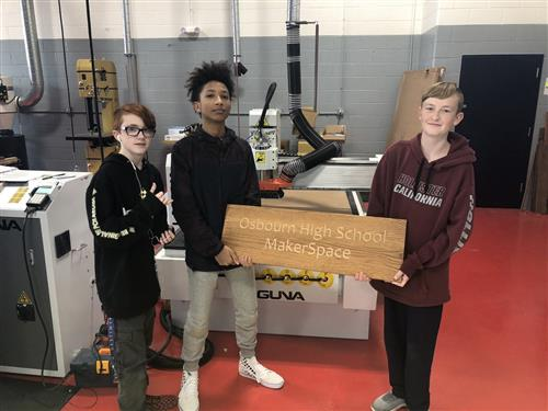 Osbourn High School MakerSpace Lab