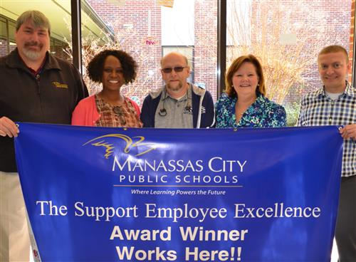 School Division Names Support Employee of the Year