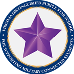 Virginia Purple Star School Image