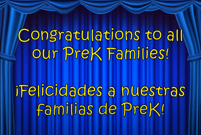Congratulations to our PreK graduates!