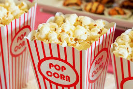 Don't forget, POPCORN FRIDAY is every Friday!
