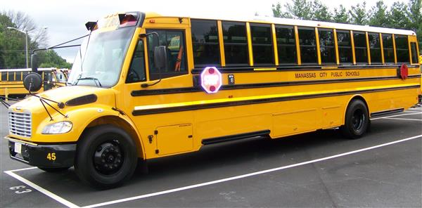 All MCPS Buses Equipped with Stop-Arm Camera System